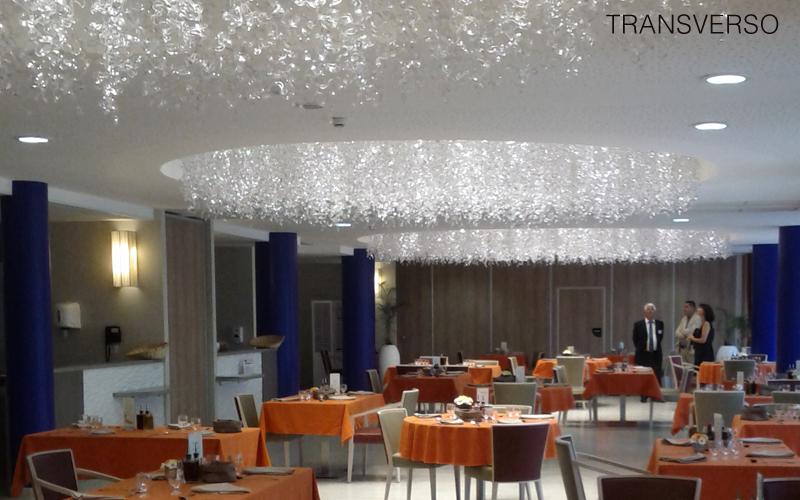 TRANSVERSO Deckenlampe Hängelampe Kronleuchter und Hängelampen Innenbeleuchtung Wohnzimmer-Bar | Design Modern