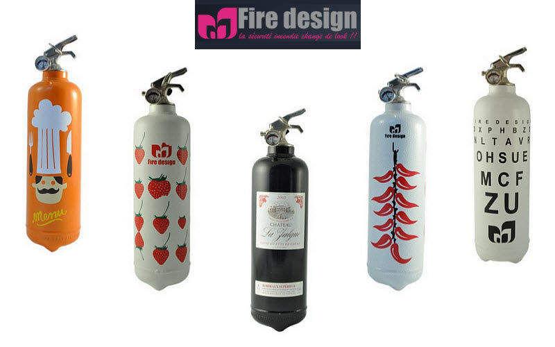 FIRE DESIGN Feuerlöscher Klimaanlage, Ventilation Ausstattung  |