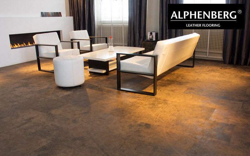 ALPHENBERG LEATHER Lederfliese Bodenplatten Böden  |