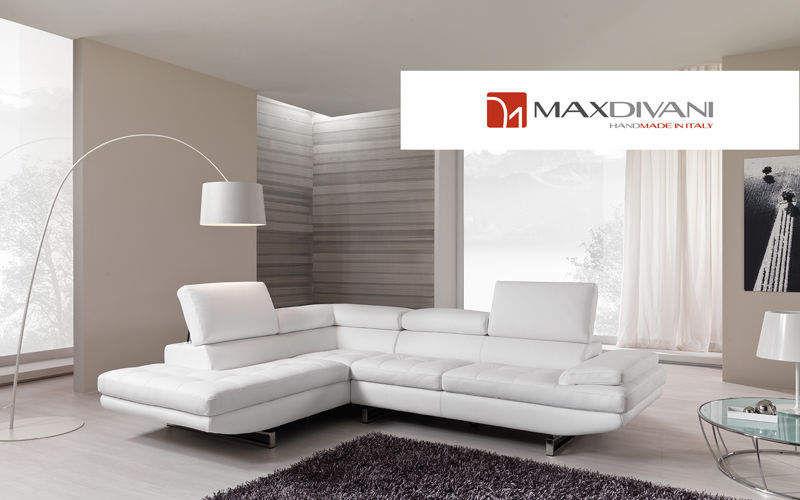 MAX DIVANI Ecksofa Sofas Sitze & Sofas Wohnzimmer-Bar | Design Modern