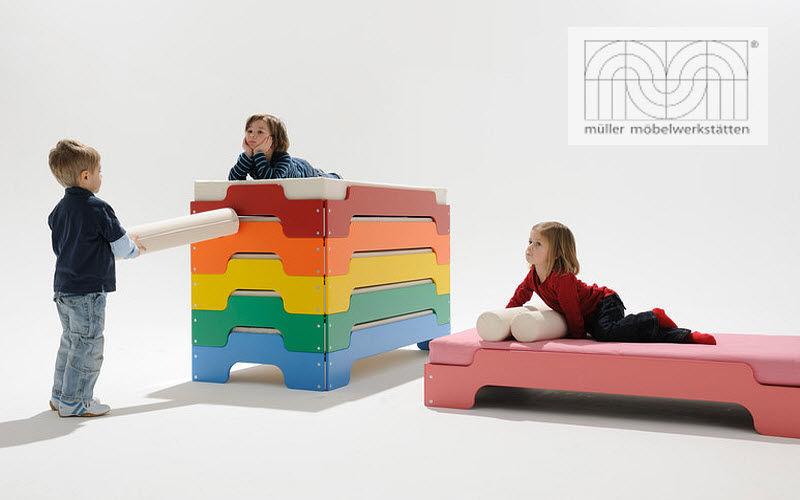 MULLER MOEBEL Hochbett Kinderzimmer Kinderecke  |
