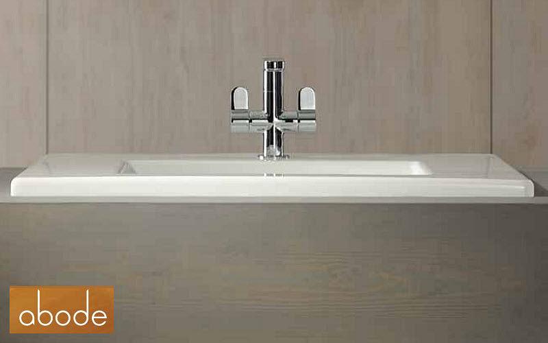 Abode 3-Loch Waschtisch Mischbatterie Wasserhähne Bad Sanitär  |