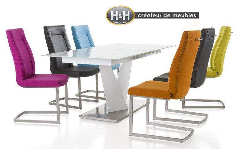 H&H Esszimmer Esstische Tisch   