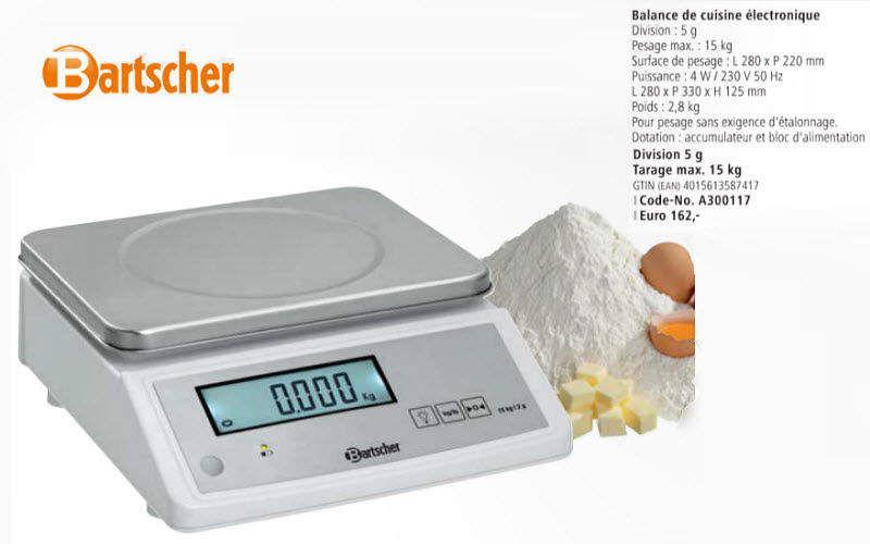 Bartscher Elektronische Küchenwaage Wiegen Küchenaccessoires   
