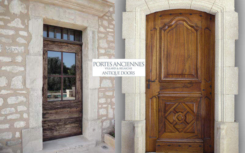 Portes Anciennes Verglaste Eingangstür Tür Fenster & Türen  |
