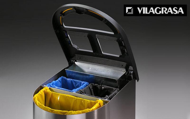 VILAGRASA Mülleimer mit Trennsystem Rund ums Spülbecken Küchenaccessoires  |