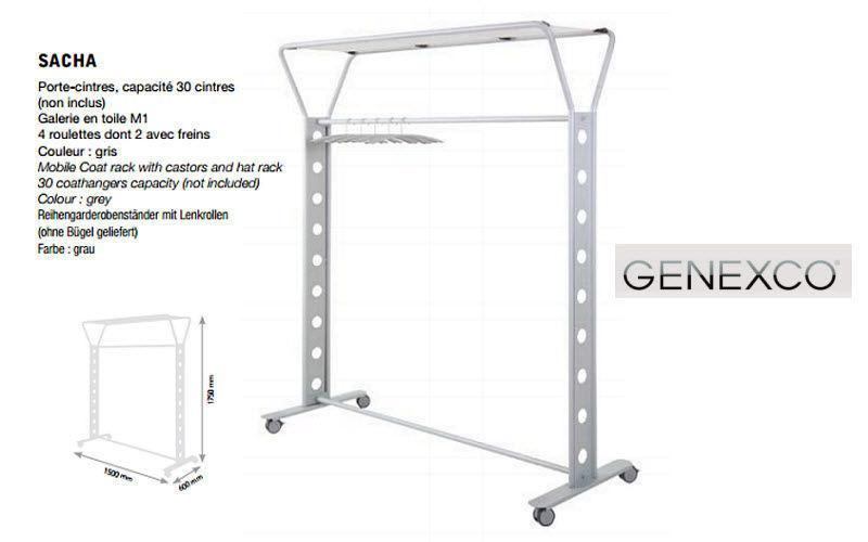 Genexco Garderobeständer Ankleidezimmer Garderobe   