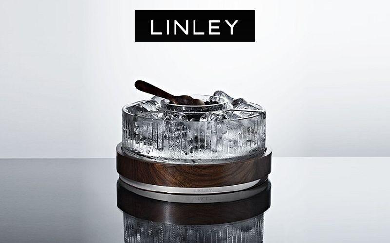 LINLEY Kaviarschale Becher und kleine Becher Geschirr  |