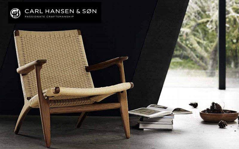 Carl Hansen & Son Niederer Sessel Sessel Sitze & Sofas   