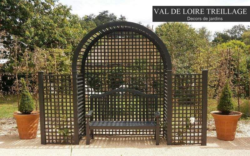 Val De Loire Treillage Pflanzenbogen Scherenzaun und Spalieren Gartenhäuser, Gartentore...  |