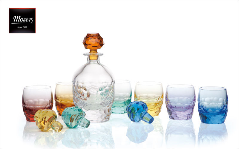 Moser Karaffe Flaschen und Karaffen Glaswaren  |
