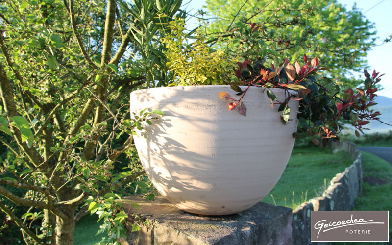 POTERIE GOICOECHEA Sockelvase Blumentöpfe  Blumenkasten & Töpfe Garten-Pool | Design Modern
