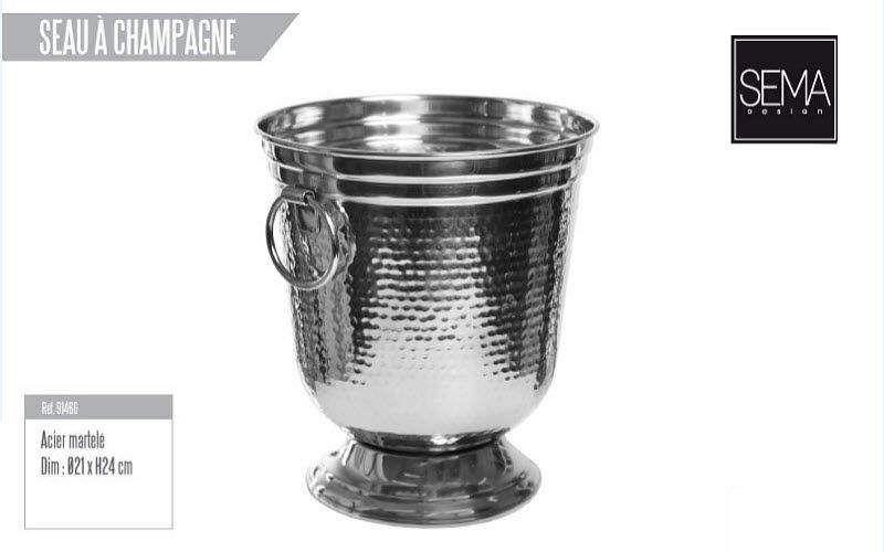 SEMA DESIGN Sektkübel Getränkekühler Tischzubehör  |