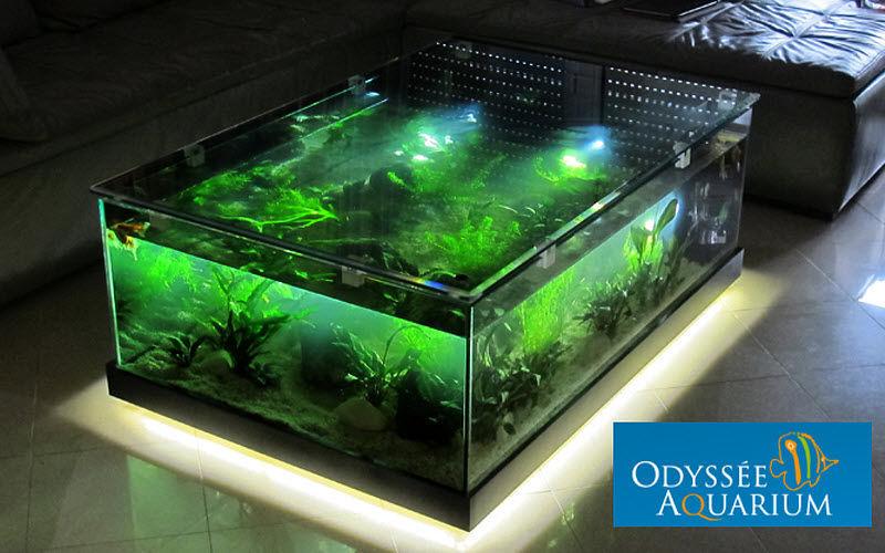 odyssee aquarium Couchtisch mit Aquarium Couchtische Tisch  |