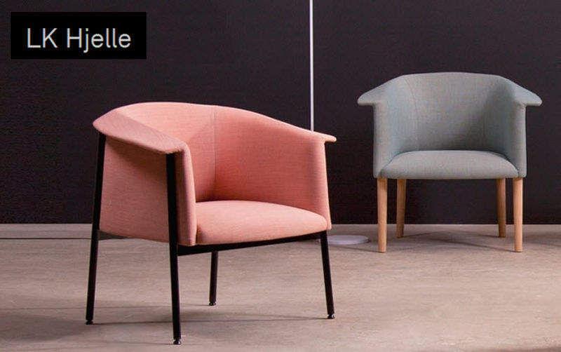 LK Hjelle Bridge-Sessel Sessel Sitze & Sofas  |