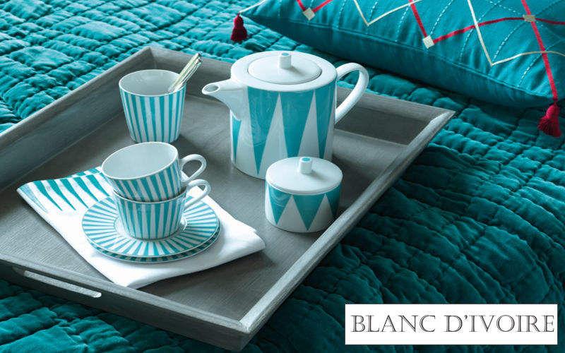 BLANC D'IVOIRE Teeservice Geschirrservice Geschirr  |