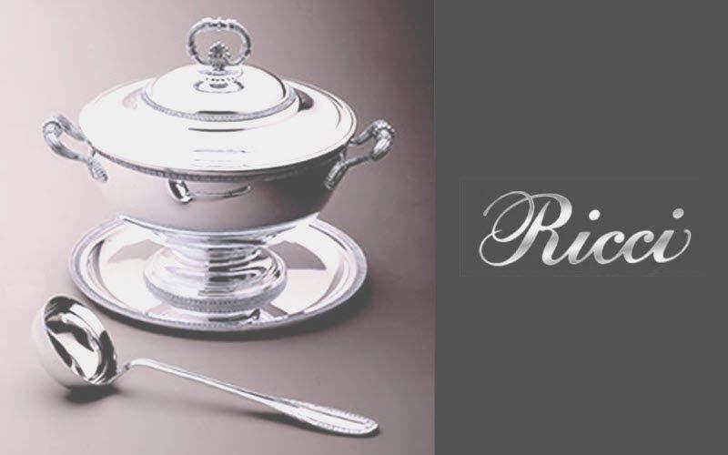 RICCI ARGENTIERI Suppenschüssel Verschiedene Gefäße Geschirr  |