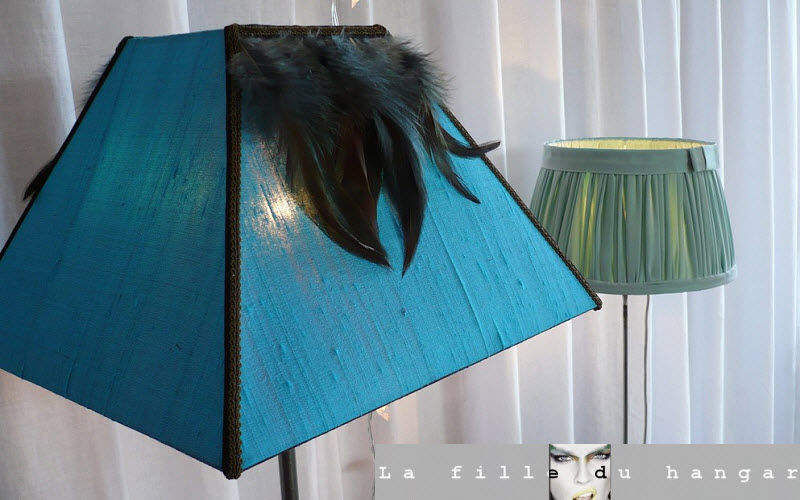 LA FILLE DU HANGAR Lampenschirm Lampenschirmen Innenbeleuchtung  |