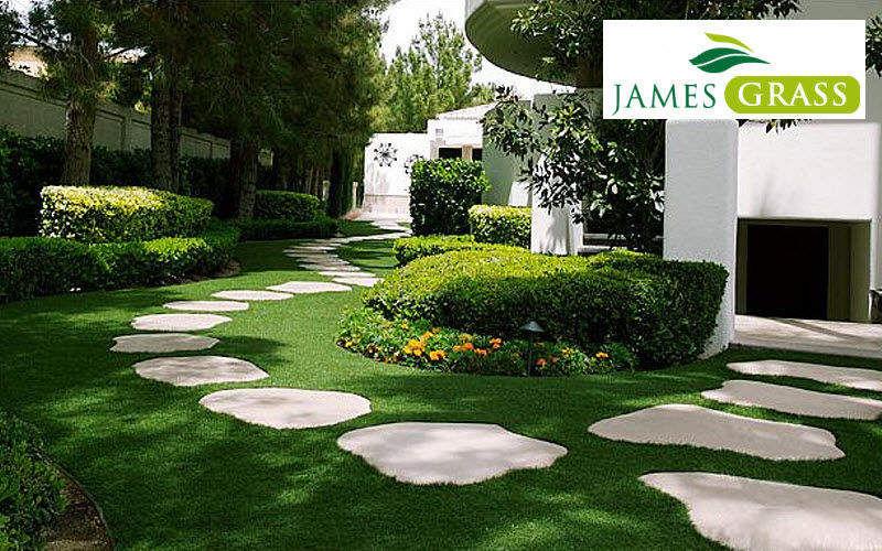 JAMES GRASS Kunstrasen Außenböden Böden  |