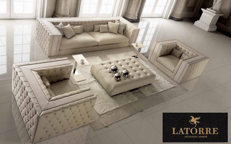 Ascension Latorre Wohnzimmersitzgarnitur Couchgarnituren Sitze & Sofas Wohnzimmer-Bar | Design Modern