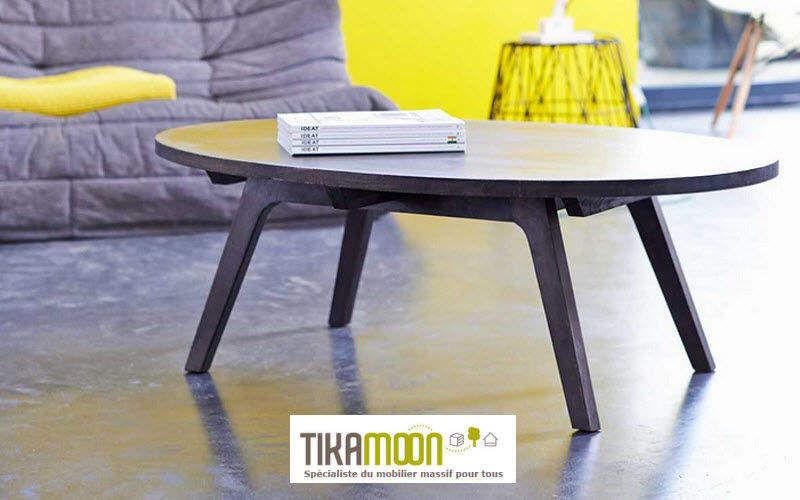 TIKAMOON Couchtisch ovale Couchtische Tisch  | Design Modern