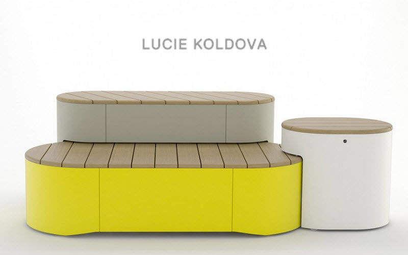 LUCIE KOLDOVA Gepolsterte Bank Sitzbänke Sitze & Sofas  |