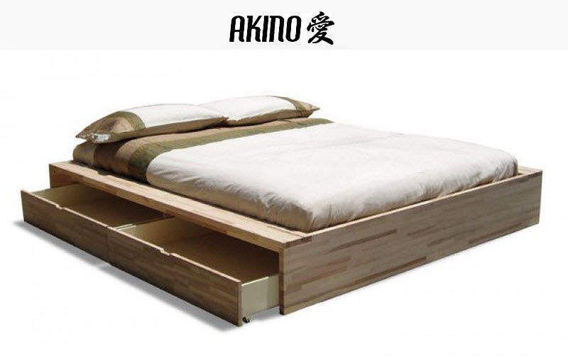 AKINO FUTON Futon Einzelbett Betten  |