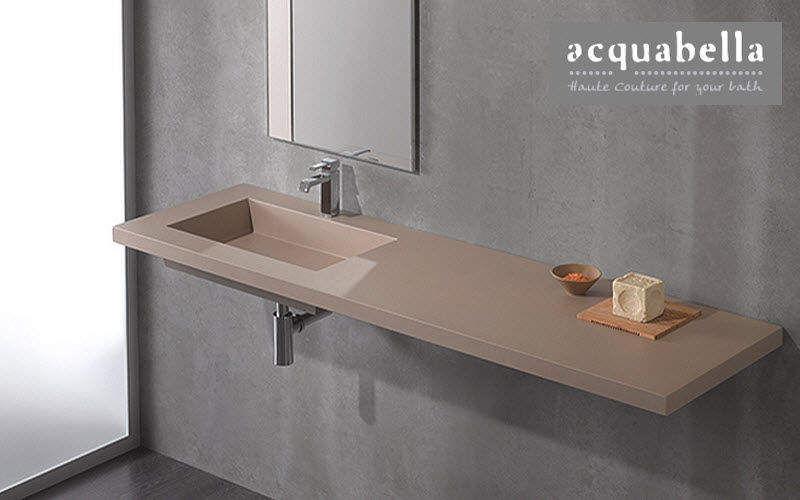 Acquabella waschtischplatte Waschbecken Bad Sanitär  |