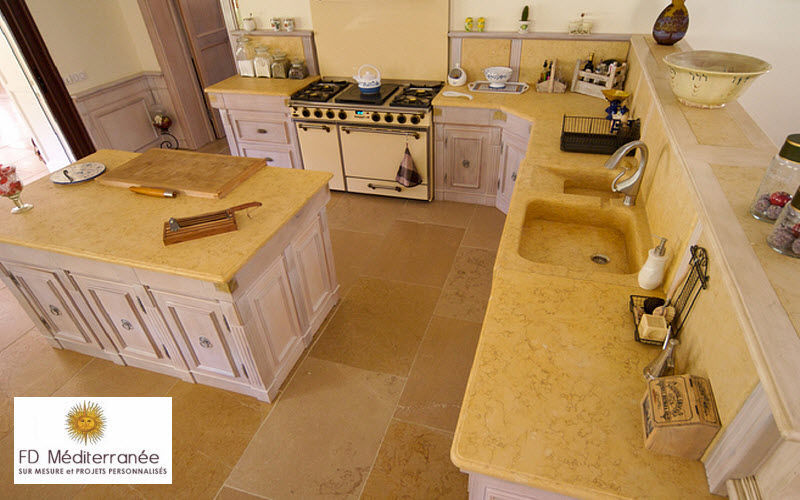 Fd Mediterranee Traditionelle Küche Küchen Küchenausstattung  |