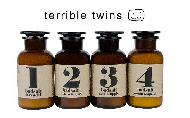 TERRIBLE TWINS Badesalz Badezimmeraccessoires Bad Sanitär  |