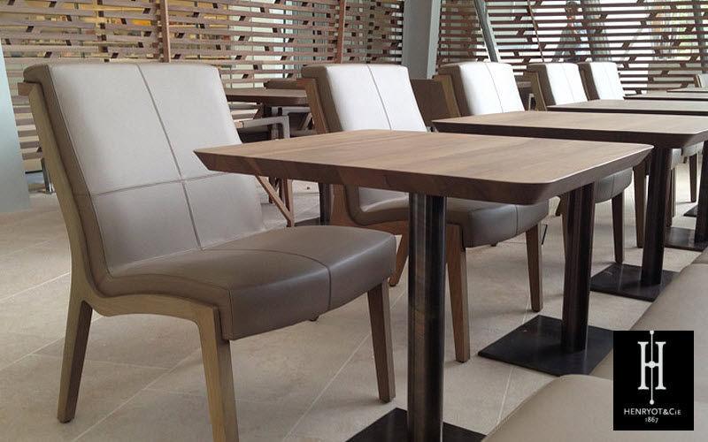 HENRYOT & CIE Esszimmer Esstische Tisch  |