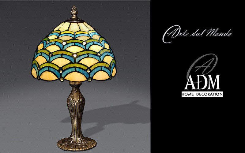 ADM ARTE DAL MONDO Tischlampen Lampen & Leuchten Innenbeleuchtung   