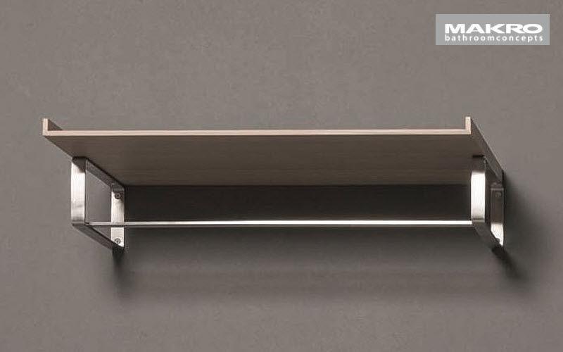 Makro Handtuchhalter mit Regal Badezimmeraccessoires Bad Sanitär  |