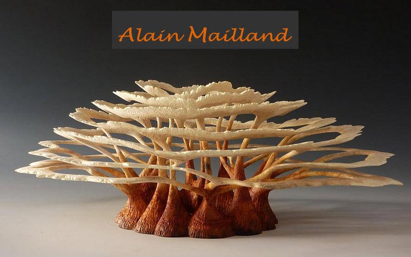 ALAIN MAILLAND - SCULPTURES BOIS Pflanzenskulptur Gartenschmuck Außen Diverses  |