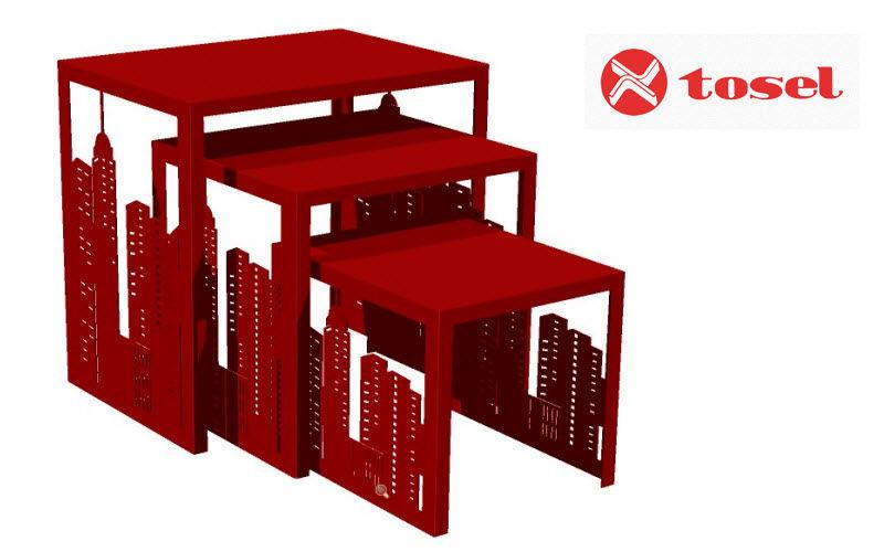 TOSEL Tischsatz Beistelltisch Tisch  | Design Modern