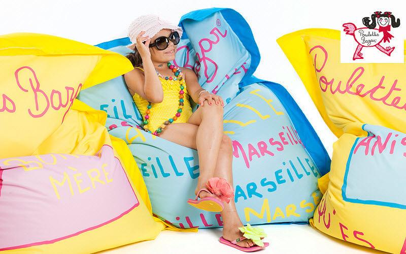 POULETTES BAZAR Sitzkissen Schemel und Beinauflage Sitze & Sofas  |