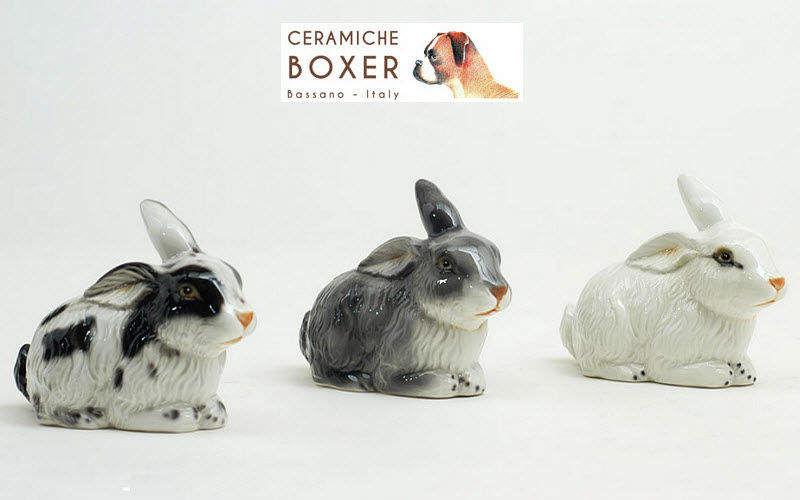 Boxer Ceramiche Figürchen Verschiedene Ziergegenstände Dekorative Gegenstände   