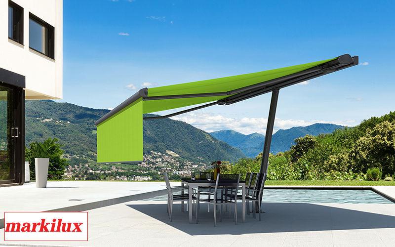 markilux Terrassenüberdachung Sonnenschirme Gartenmöbel  |