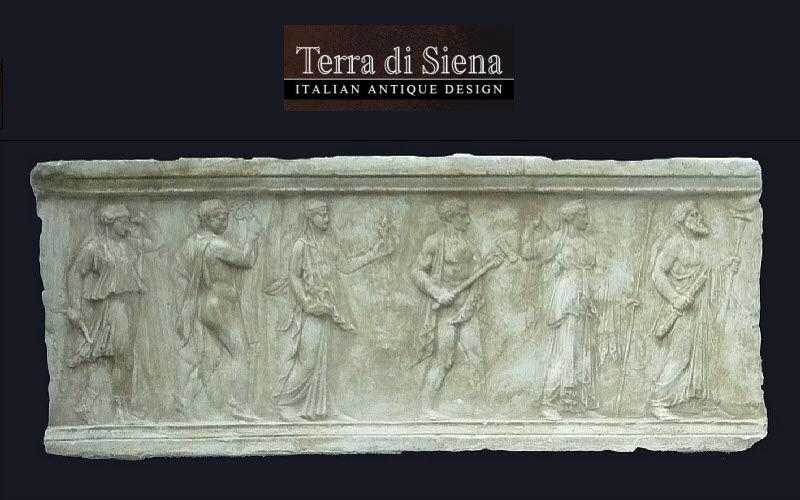 Terra Di Siena Flachrelief Architektur Verzierung  |