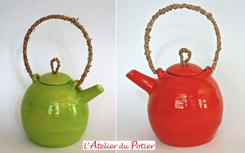 Atelier du Potier Teekanne Kaffee- und Teekannen Geschirr  |