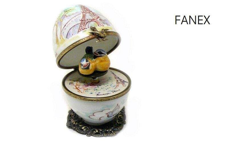 Fanex Spieluhr Musik und Instrument Verzierung  |
