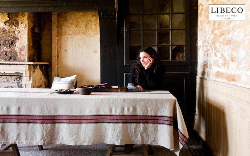 Libeco Home Rechteckige Tischdecke Tischdecken Tischwäsche  |