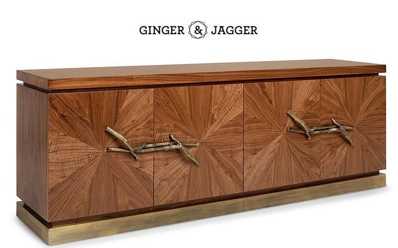Ginger & Jagger Langes Anrichte Truhen Anrichten Regale & Schränke  |