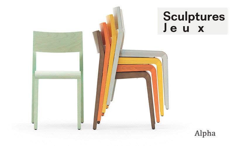 SCULPTURES JEUX Stapelbare Stühle Stühle Sitze & Sofas  |