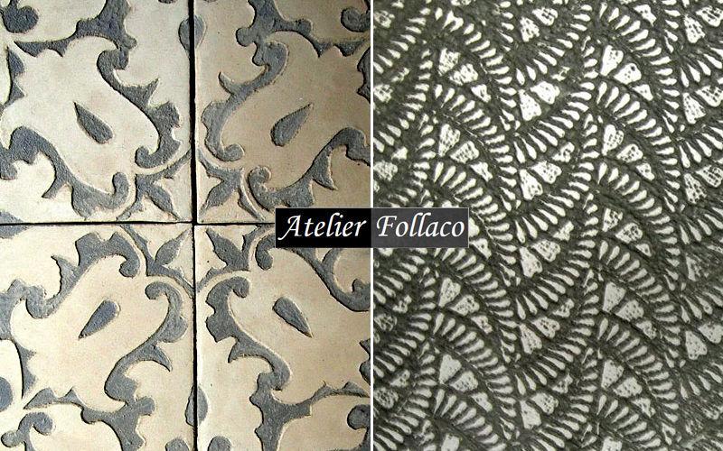 Atelier Follaco Antike Fliese Bodenfliesen Böden  |