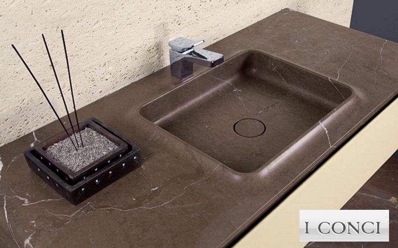 I CONCI waschtischplatte Waschbecken Bad Sanitär  |