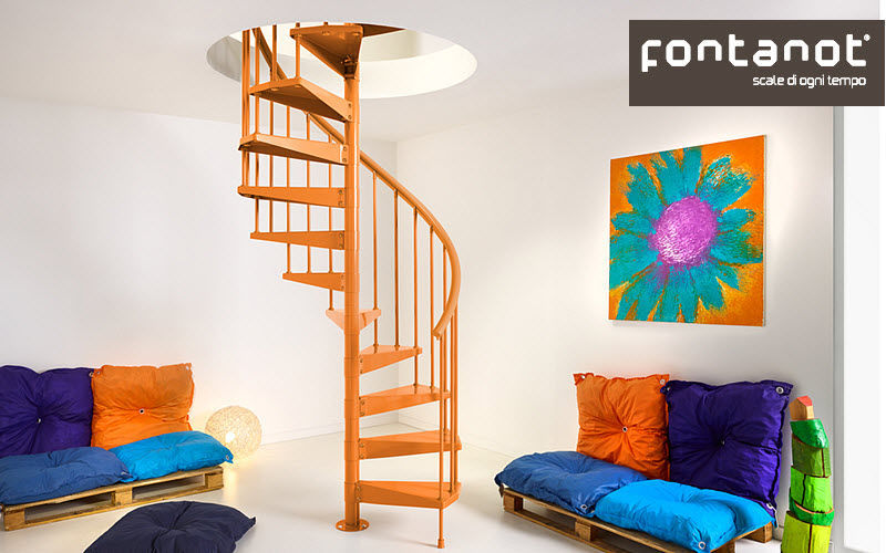 FONTANOT Treppen - Schnecke Treppen, Leitern Ausstattung  |