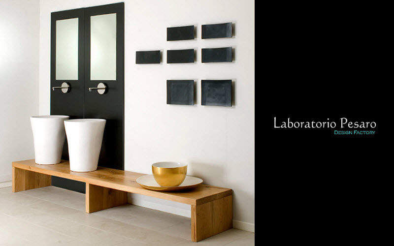Laboratorio Pesaro Design Factory Fuß- oder Säulenwaschbecken Waschbecken Bad Sanitär  |