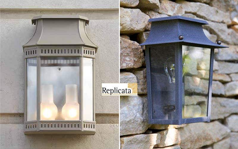 Replicata Garten-Wandleuchte Aussen Wandleuchten Außenleuchten  |