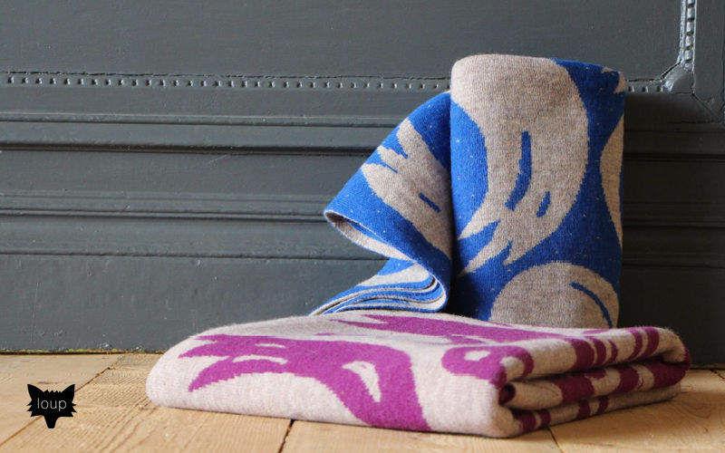 LOUP MAISON Plaid Bettdecken und Plaids Haushaltswäsche   